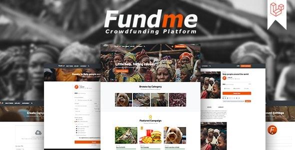 Fundme - Crowdfunding Platform - CodeCanyon Item for Sale