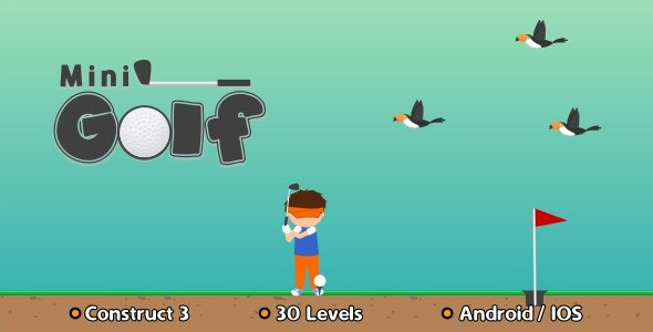 Mini Golf - HTML5 Game (Construct 3) - CodeCanyon Item for Sale