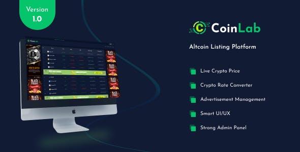 CoinLab - Altcoin Listing Platform