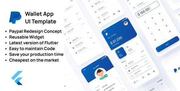 Wallet App UI Template - Flutter