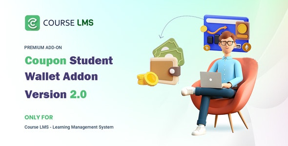 Course LMS Student Wallet addon - CodeCanyon Item for Sale