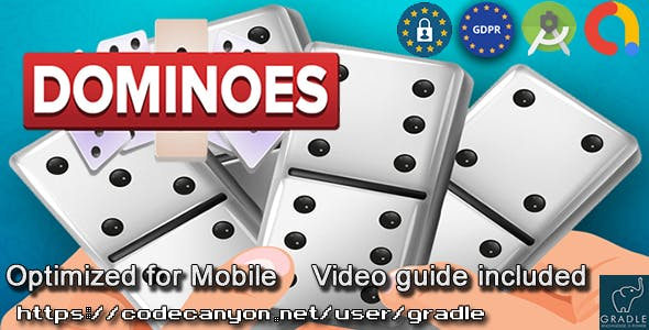 Dominoes (Admob + GDPR + Android Studio)
