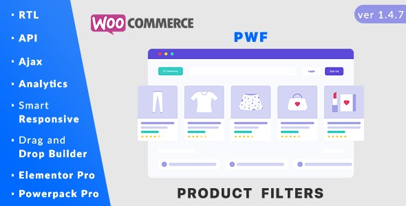 PWF WooCommerce Product Filters v1.4.7