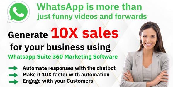 Advanced Bulk Whatsapp Marketing Tools 2021 - Automation