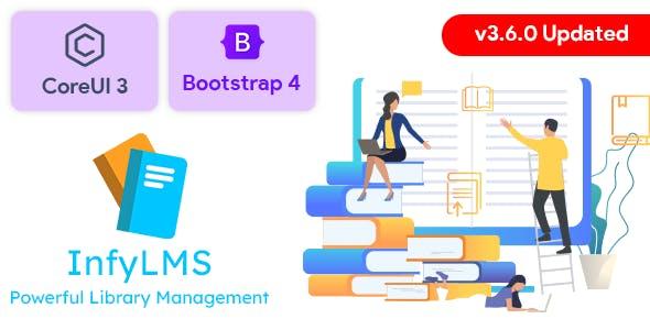 InfyLMS - Library Management System with E-Books (Laravel + ReactJS)