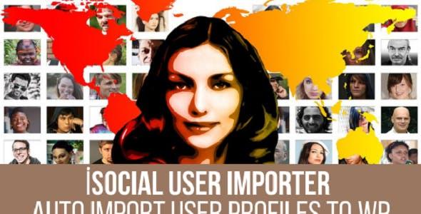 iSocial User Importer Plugin for WordPress
