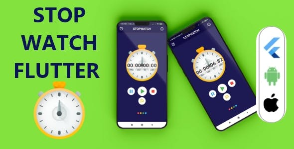 stopwatch flutter app with admob