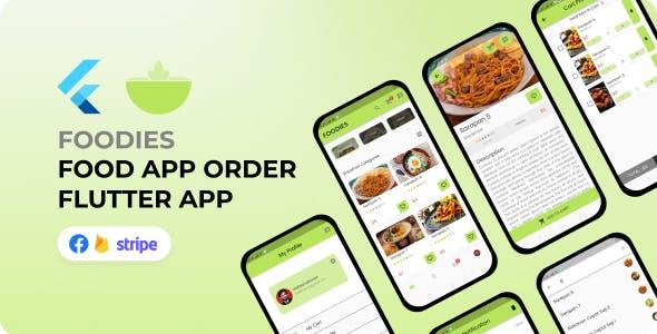 Foodies Food App - Flutter