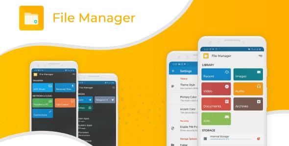 File Explorer and File manager android app | with admob