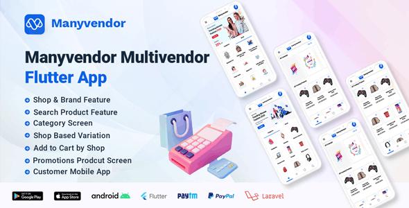 Manyvendor Multivendor Flutter App