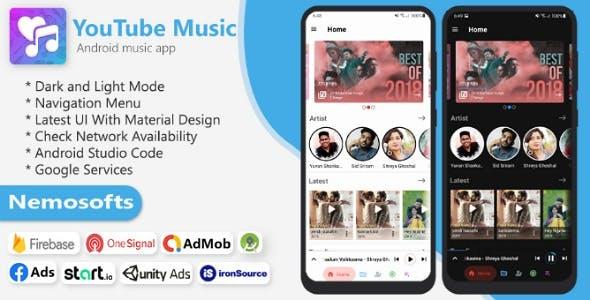 YouTube Music App - Online Music Streaming Apps