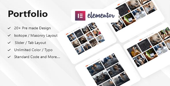 Portfolio Builder - Elementor Portfolio Addon