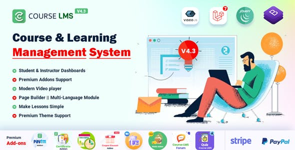 Course LMS - Online Learning Management System