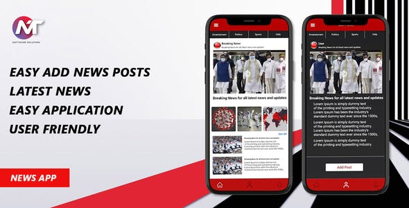 RS News App - Complete Solution For News App