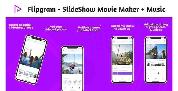 Flipgram - SlideShow Movie Maker + Music | Google AdMob | Subscription Plan | In App Purchase