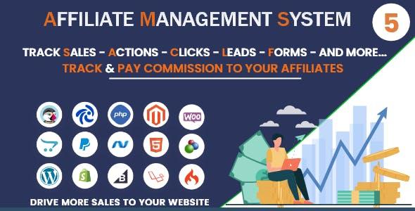 Ultimate Affiliate Management System - PHP Platform