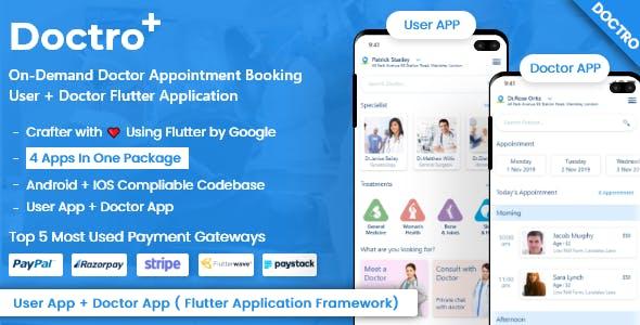 Doctor Appointment Booking & Medicine Ordering Flutter App