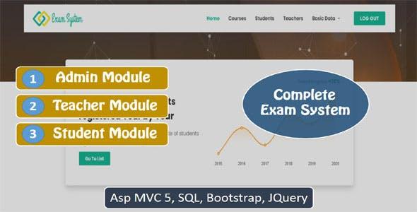 Online Exam System  ASP MVC 5