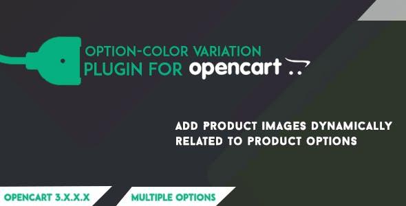 Opencart Option-Color Variation