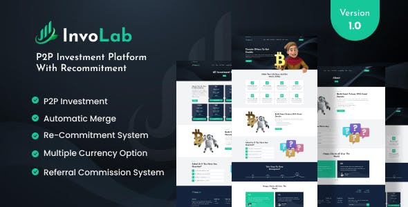 InvoLab - P2P Investment Platform With Recommitment