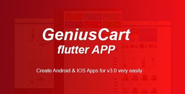 GeniusCart APP - Multi-vendor eCommerce Android and IOS Flutter App