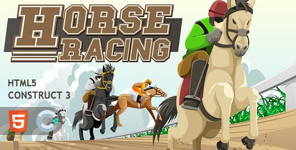 Horse Racing HTML5 Construct 3 Game