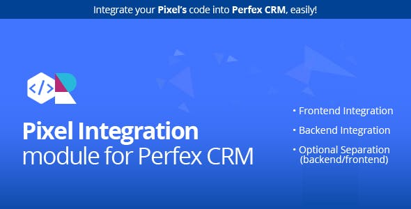 Pixel module for Perfex CRM