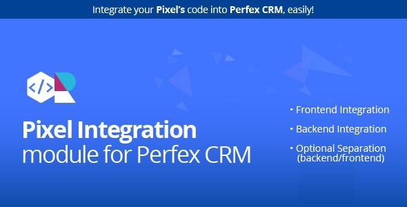 Pixel module for Perfex CRM - CodeCanyon Item for Sale