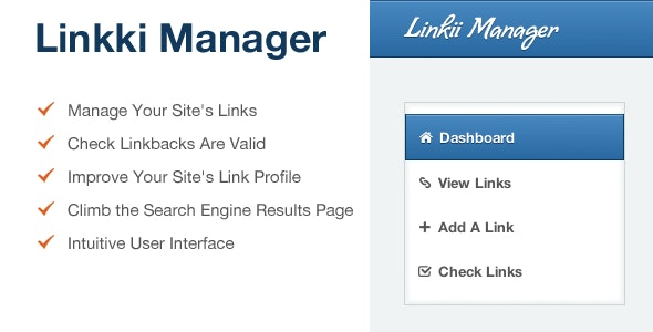 Linkii Link Exchange Manager - CodeCanyon Item for Sale