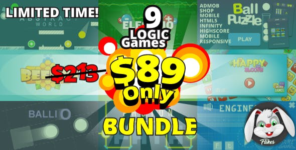Logic Games Bundle - 9 games with 41% discount