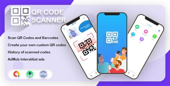ScanQR - Android QR Scanner & Generator - Scan & Generate Tons of QR/Barcodes