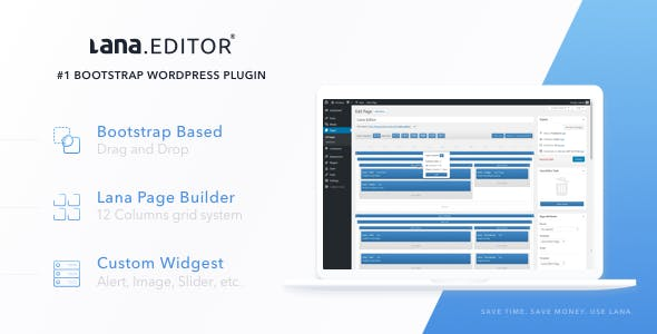 Lana Editor - Drag & Drop Page Builder for WordPress