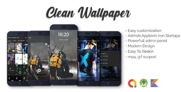 Clean Wallpaper Apps