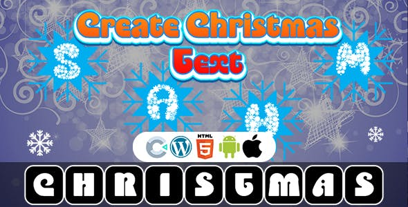 Create The Christmas Text Game (Construct 3 | C3P | HTML5) Christmas Game