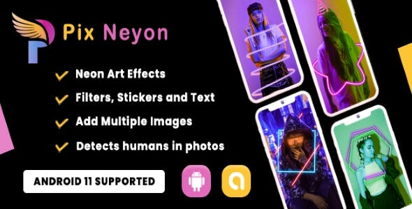 Pix Neon - Photo Editor (Android 11 Supported)