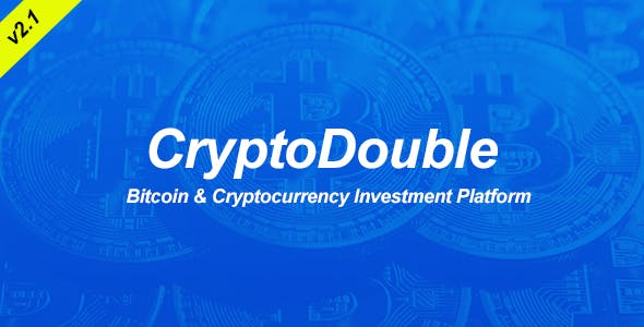 CryptoDouble - Bitcoin and Cryptocurrency HYIP Investment Platform