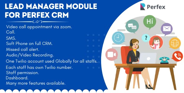 Lead Manager  Module for Perfex CRM