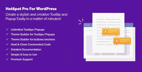 HotSpot Pro For WordPress