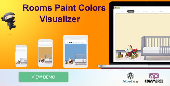 WooCommerce Room Paint Colors Visualizer
