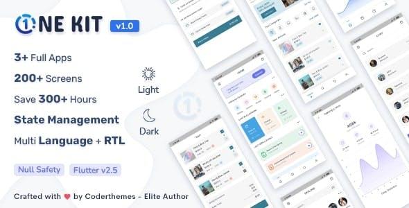 OneKit - Flutter UI Kit