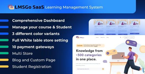 LMSGo SaaS- Learning Management System