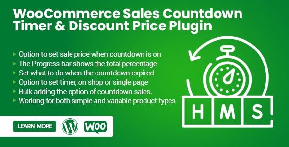WooCommerce Countdown Sales & Price Discount Plugin