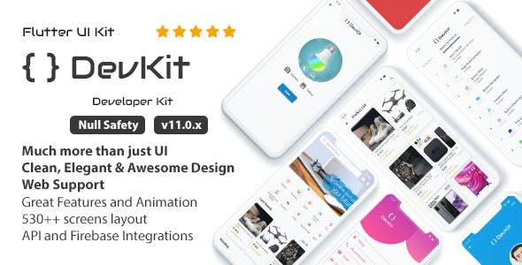 DevKit - Flutter UI Kit
