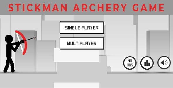 Stickman archery multiplayer game unity Android,IOS