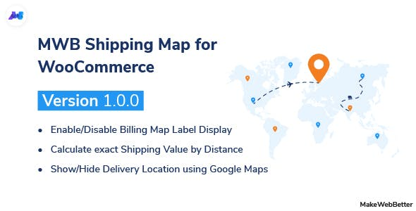 MWB Shipping Map for WooCommerce