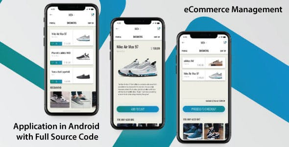 eCommerce Android App with Full Source Code