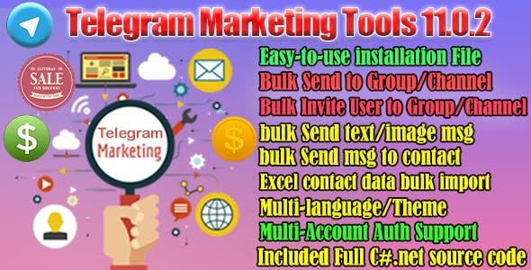Telegram Marketer Tools 11
