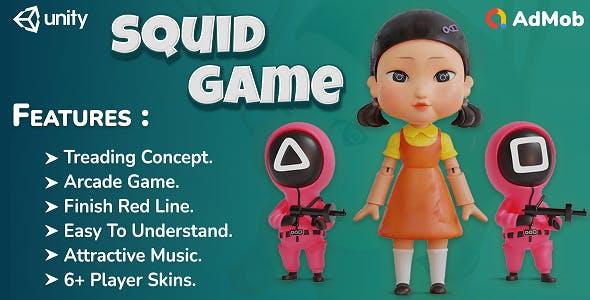 Squid Game : Addictive Fun Game