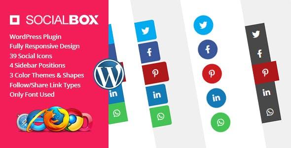 SocialBox - Social Sidebar WordPress Plugin