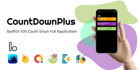 CountDownPlus - SwiftUI iOS Countdown Full Application